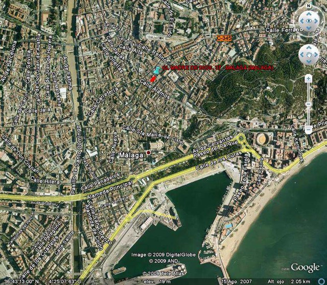Plot in Malaga city centre very near to Plaza de la Merced. 382 m2, with a proyect and licenced to b,Spain