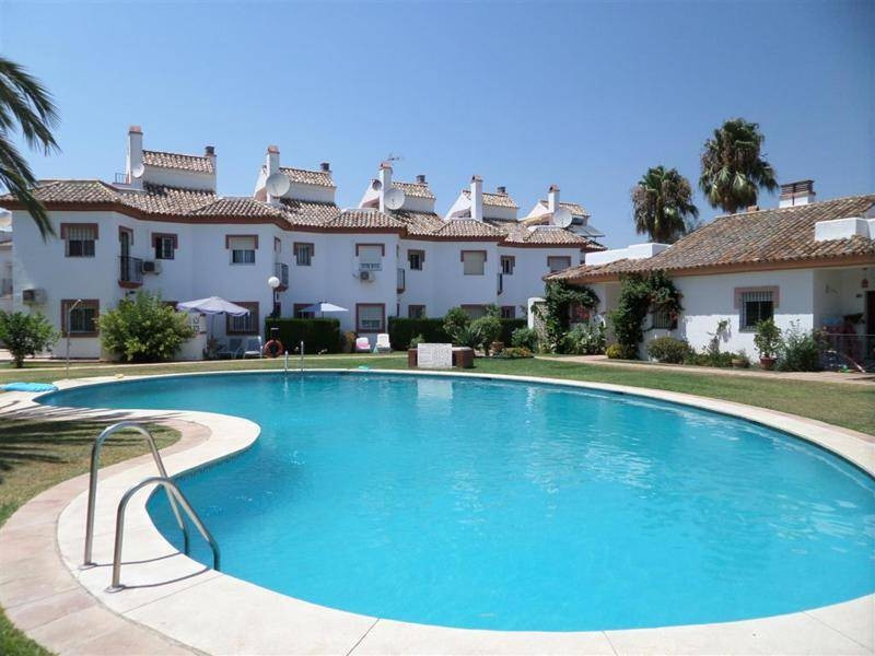BARGAIN!! Does need a bit of work  Townhouse in Mijas Golf in a gated complex with community pool an,Spain