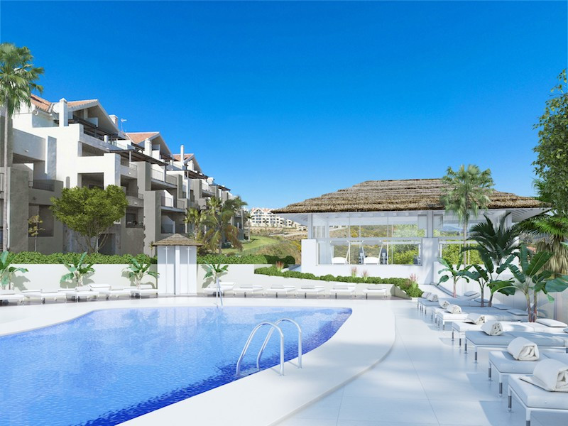 THE SUITES - This complex in La Cala is a unique 1, 2 and 3 bedroom modern development set between m,Spain