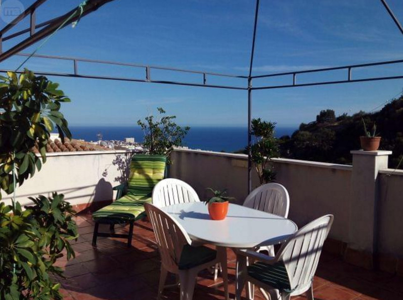 Amazing penthouse with spectacular sea views in Benalmadena village. The house has a terrace with a , Spain