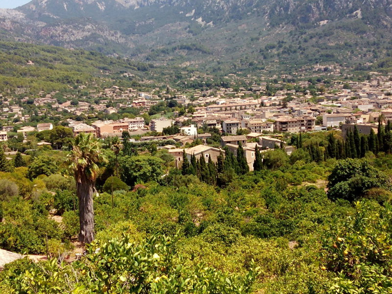 Soller is an attractive village on the northwest coast of Mallorca. Located about 3 km. From its por, Spain