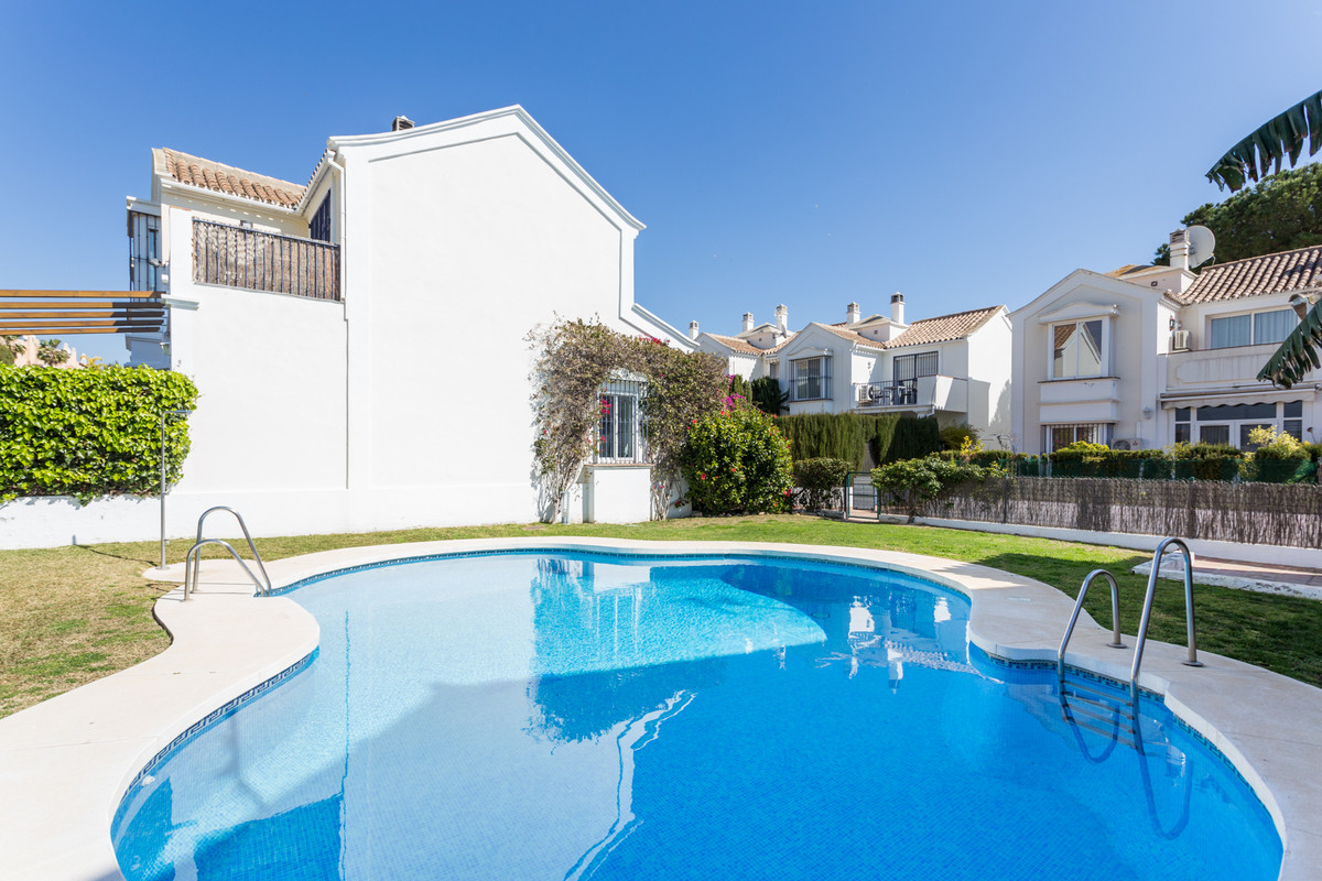 Beautiful, ample (128m2 interior)  and bright, west facing 3 bed and 3 bath Andalucian style town ho, Spain