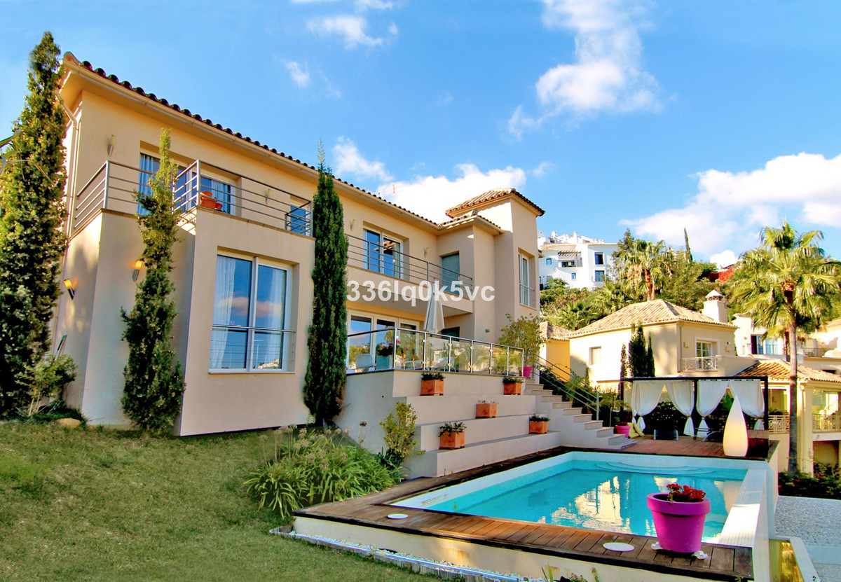 Villa located in the 24-hour secured gated golf urbanization of Los Arqueros, Benahavis. With enjoyi, Spain