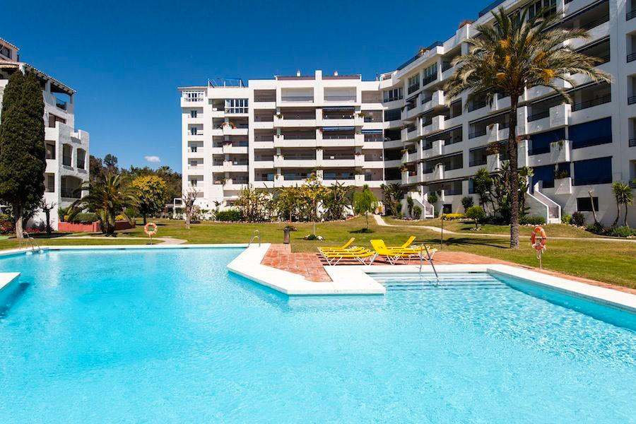 Location - Heart of Puerto Banus.  Two bedroom apartment in Terrazas de Banus, gated community with  Spain