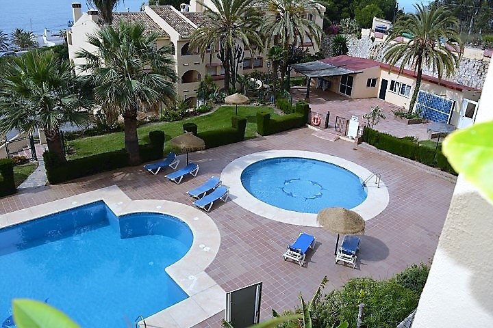 NICE APARTMENT ONLY 100 METRES FROM THE BEACH IN TORRENUEVA, MIJAS-COSTA.  Located in a beautiful ur,Spain