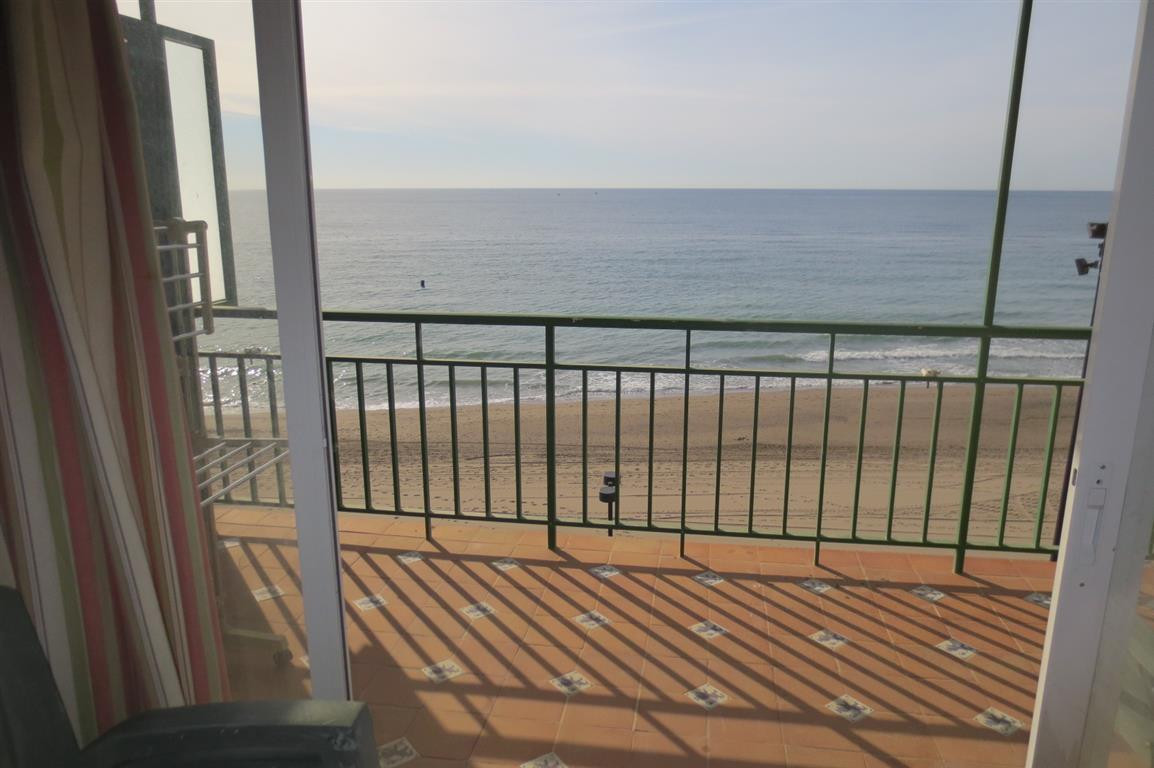 Bright and spacious first line beach apartment with fabulous views on the recently renovated promena,Spain
