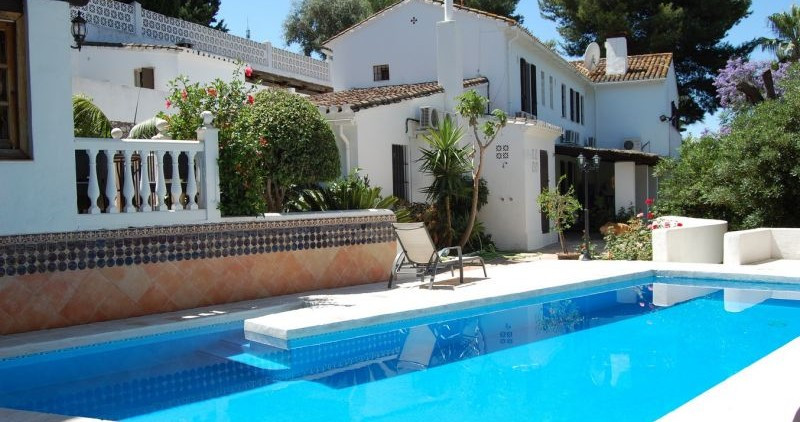 A beautiful rustic Cortijo style property very close to Benalmadena Pueblo which is only 5 minutes t,Spain