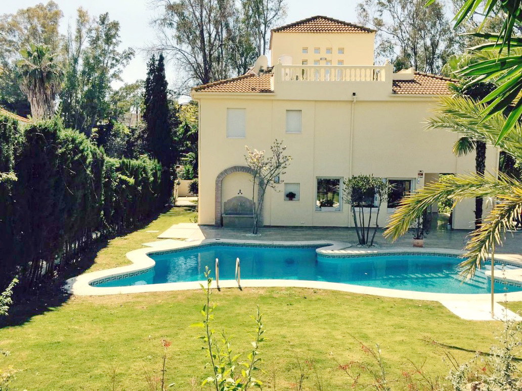 Fantastic villa for sale in Nueva Andalucia, Costa del Sol. With nice views to the private garden an, Spain