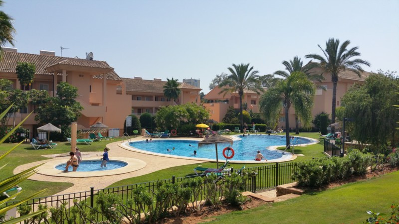MARBELLA - EVLIRIA:  SUPERB 2 BED APARTMENT WITH AMAZING TROPICAL GARDEN & POOL VIEWS!  Located , Spain