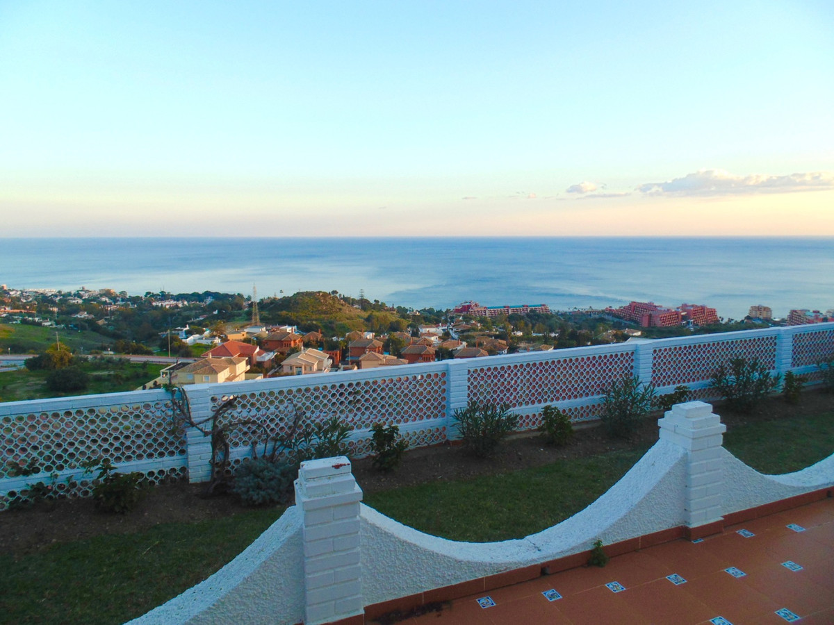 Detached villa with unbeatable panoramic sea views visible not just from outside but also from the l, Spain