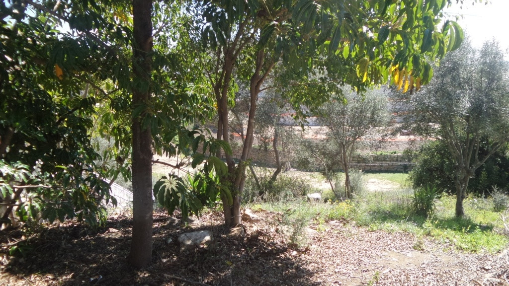 For sale urban plot of 925m2 fully fenced with stone walls, possibility of building a villa of 225 m,Spain