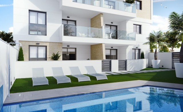Newbuilt complex with availability on 3 different floors - ground floor, first floor and Penthouse A,Spain