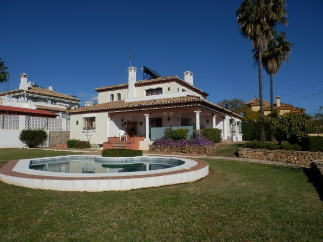 Lovely villa located in a residencial area which is a short drive to the town of Marbella.   Quiet a,Spain