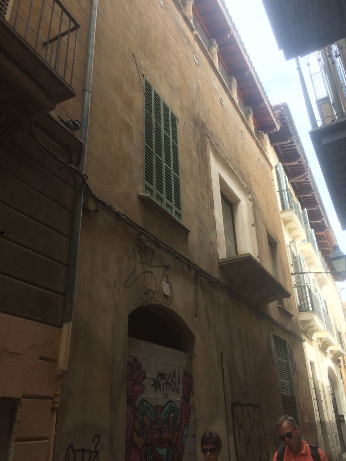 SEVEN CONTINUOUS BUILDINGS IN THE OLD HELMET OF PALMA WITH A 4000 M2 CONSTRUCTED NEED IDEAL REFORM F, Spain
