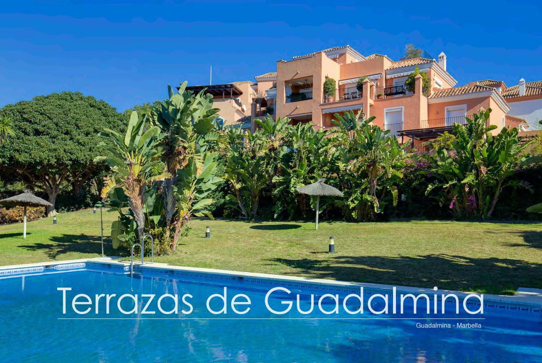 Front line golf location !  Luxury corner duplex penthouse apartment for sale in Guadalmina Alta, Ma, Spain