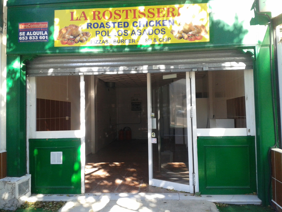 Excellent local, great as restaurant take away, bar, cafe, or many other business!! the location is , Spain