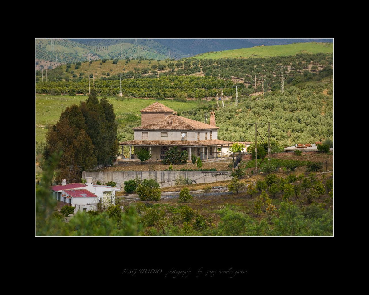 GENERAL INFORMATION FINCA ALORA  The main house has 880 m2 built in 3 floor,  main floor with 2 beds, Spain