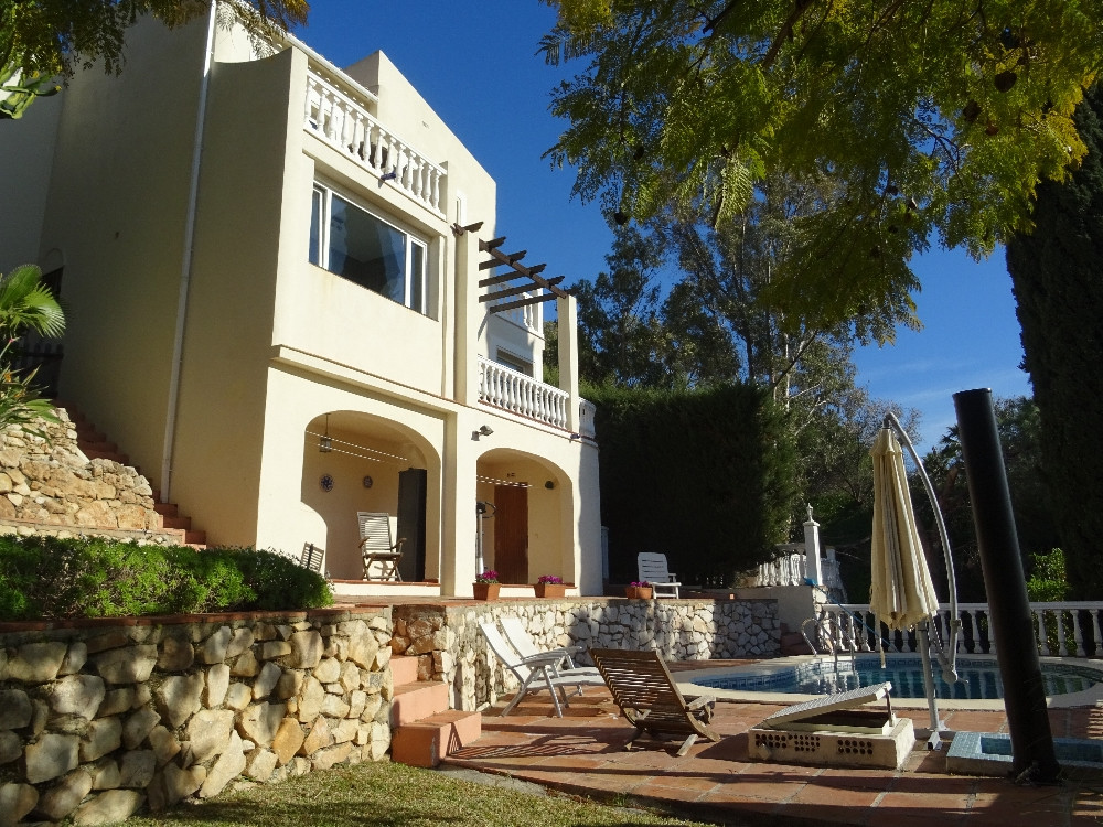 Very well presented villa in a quiet are of Elviria. Reformed to a high standard and consisting of a,Spain