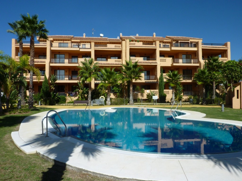 Overlooking Calanova Golf course in La Cala de Mijas this is a fantastic deal for a large corner 3 b, Spain