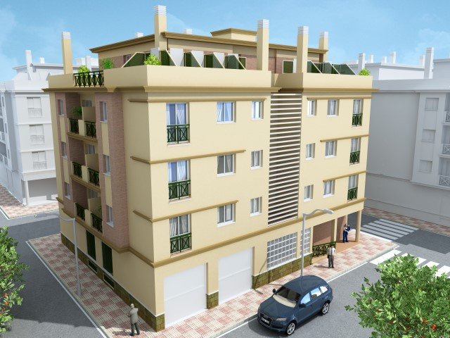 Land with Construction License approved as much as for single housing project as for hostel and hous Spain