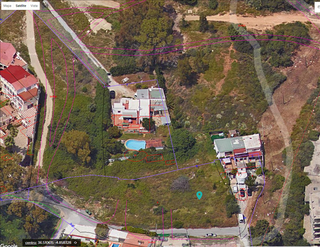 Land a few meters from the beach with sea views. Finca for construction of several Villas or single-, Spain