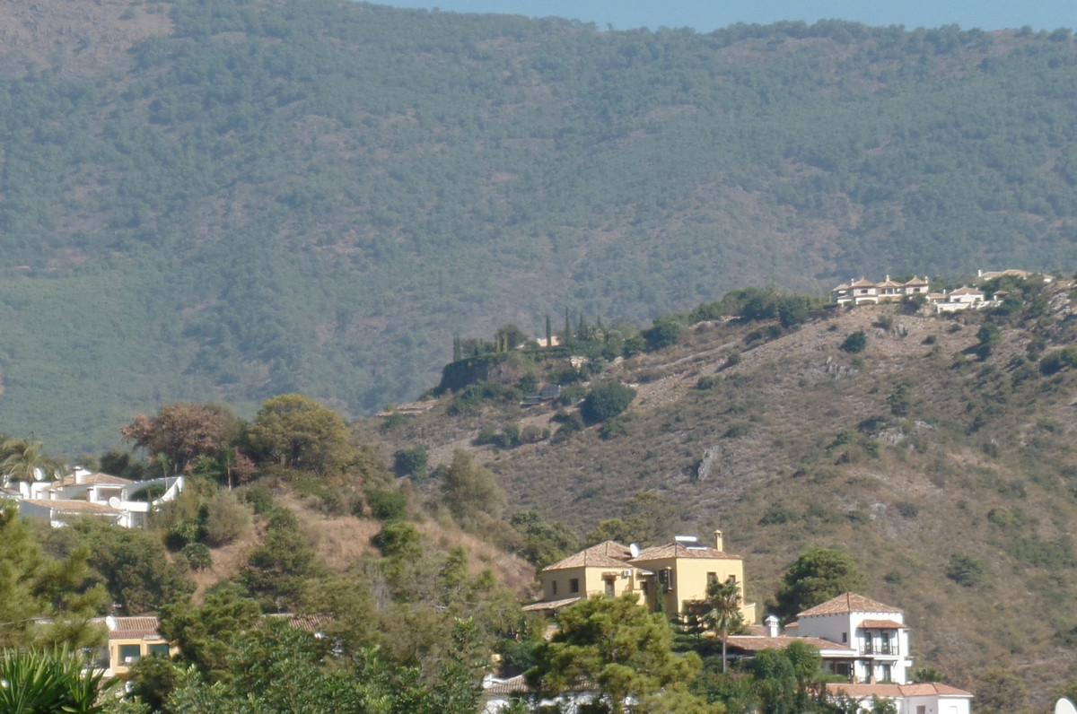 A very good sized plot in the village of Benahavis.  2,079 m2.  Planning permission for two villas. ,Spain