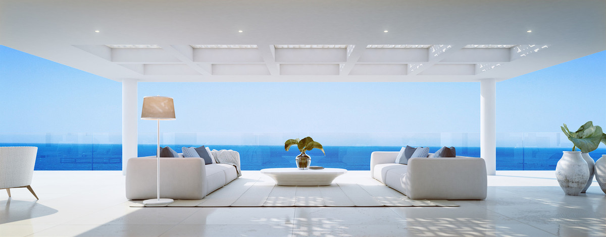 CONTEMPORARY FRONTLINE BEACH APARTMENT On the front line of the Mediterranean Sea, between Marbella , Spain