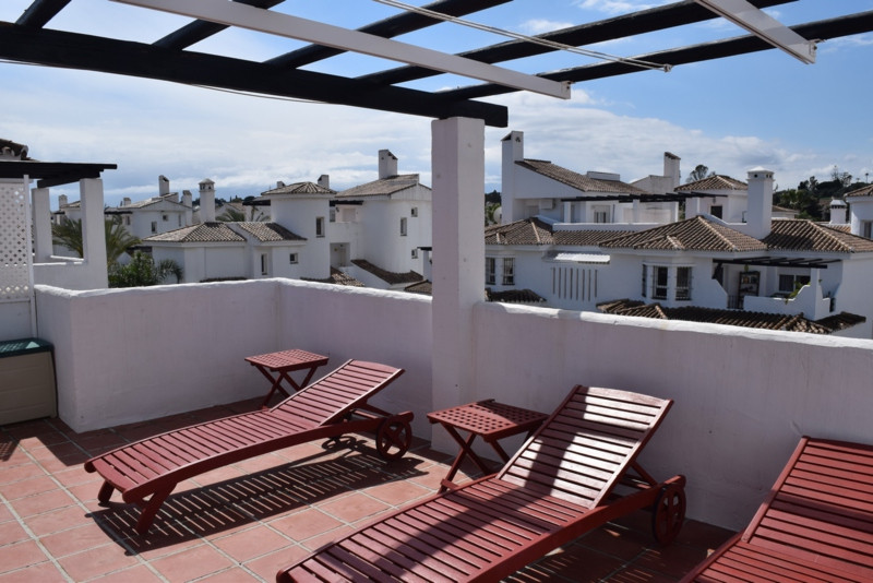 Two bedrooms penthouse with wide and west facing terrace & spectacular views, one complete bathr,Spain