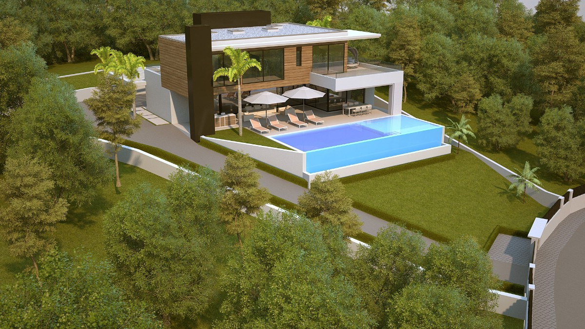Large building plot with project and license for sale in La Alqueria.   Specifications:  6 bedrooms , Spain