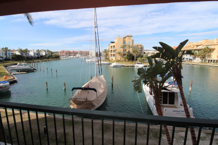 Sotogrande Marina: Ribera del Delfin, 2 bedroom 2 bathroom garden apartment with wonderful views to , Spain