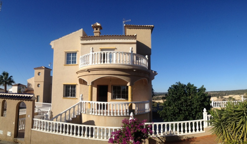 4 BEDROOM DETACHED VILLA IN EL GALAN, VILLAMARTIN.  This spectacular villa is situated on the last l, Spain