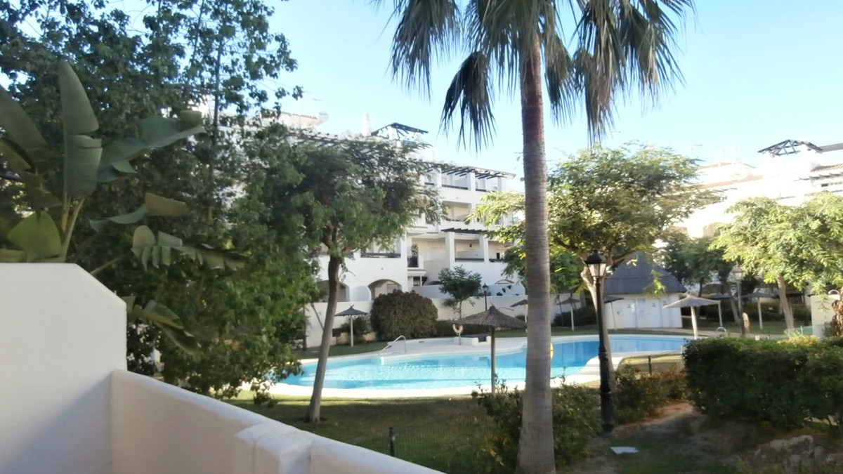 Spacious terrace groundfloor town centre, Residencial Duquesa.  Exclusive 2 bedroom property in a po,Spain