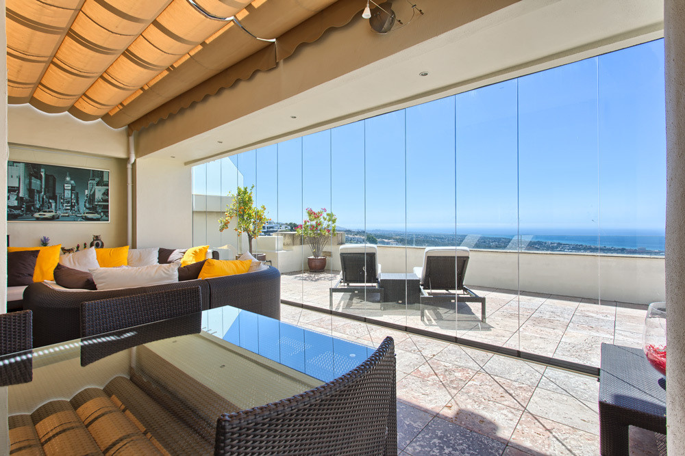 Luxury Penthouse in Los Altos de Los Monteros, Marbella *** South Facing with Panoramic Sea Views **, Spain