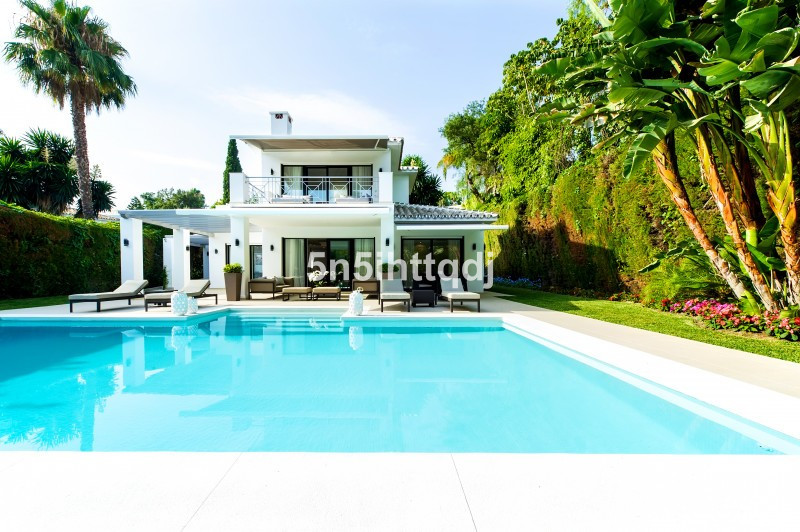 A modern Villa situated in one of the best streets in the very sought-after area of Nueva Andalucia.,Spain