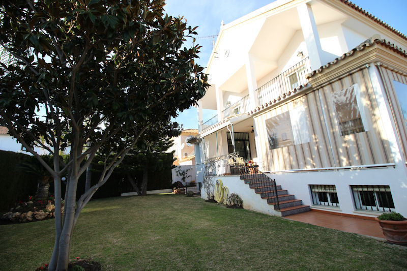 Fabulous beachside villa in one of the best areas of Marbella, only 5 minutes from downtown.  Quiet ,Spain