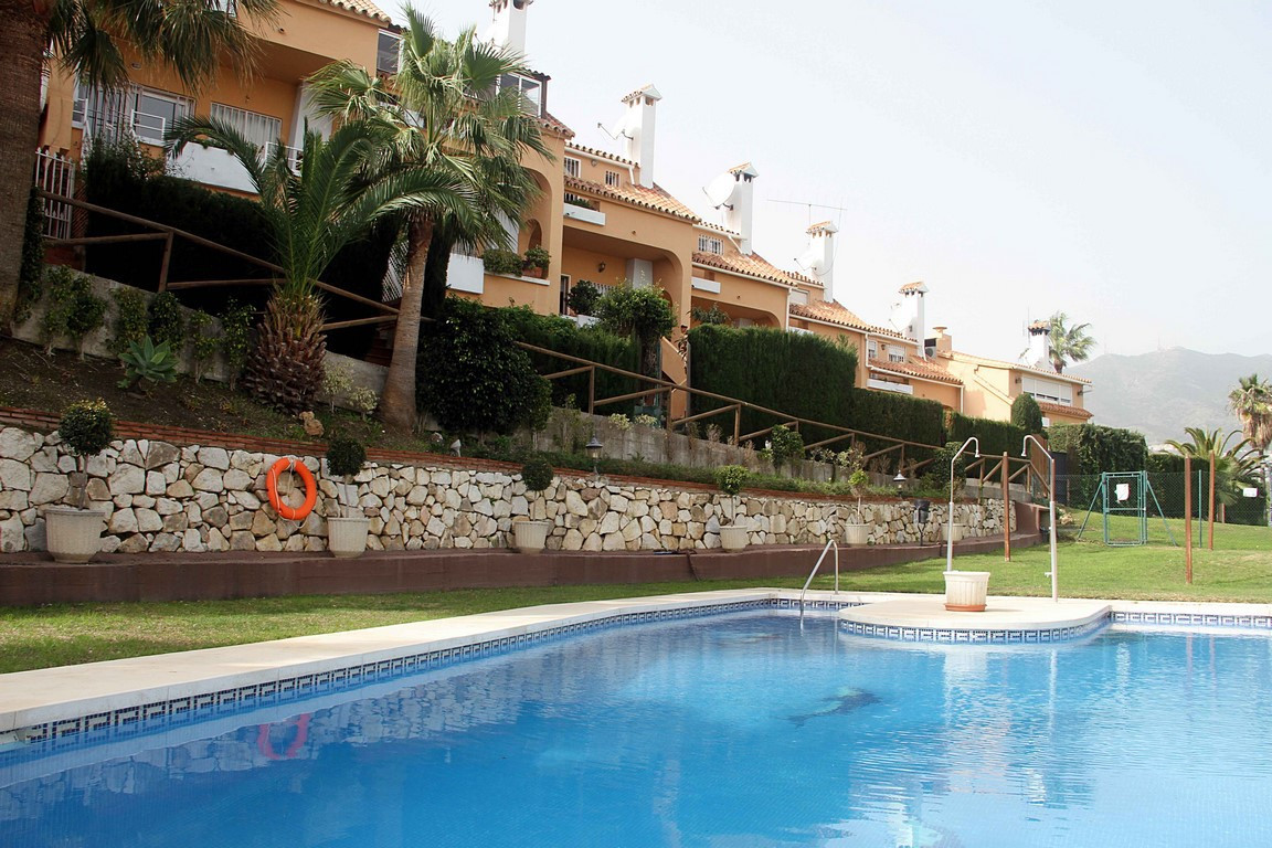 Detached family house is located in  Torrequebrada - Benalmadena, consists of two floors and on the , Spain