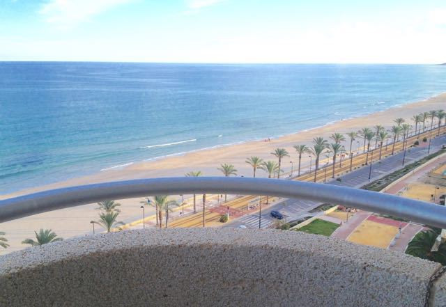 Spectacular,  beachfront 2 bedroom apartment on Muchavista beach, El Campello.  This is truely one o, Spain
