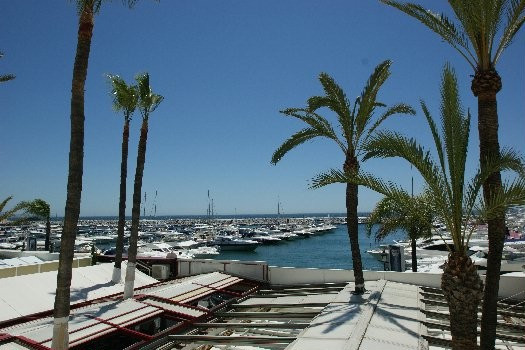 Unique position along the frontline of Puerto Banus. South facing with lovely 180º views to the harb,Spain