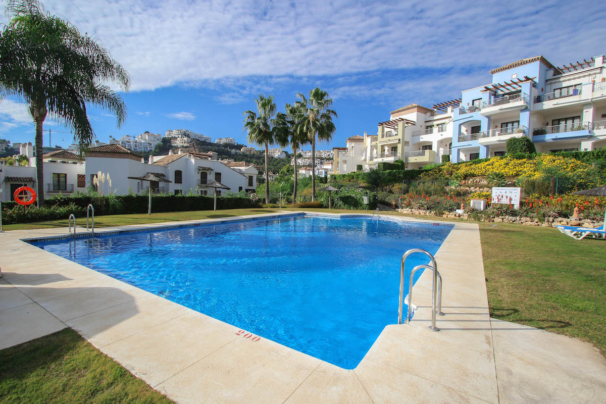 * 3 bedroom ground floor apartment  * private garden  * view of the swimming pool  * south west orie, Spain