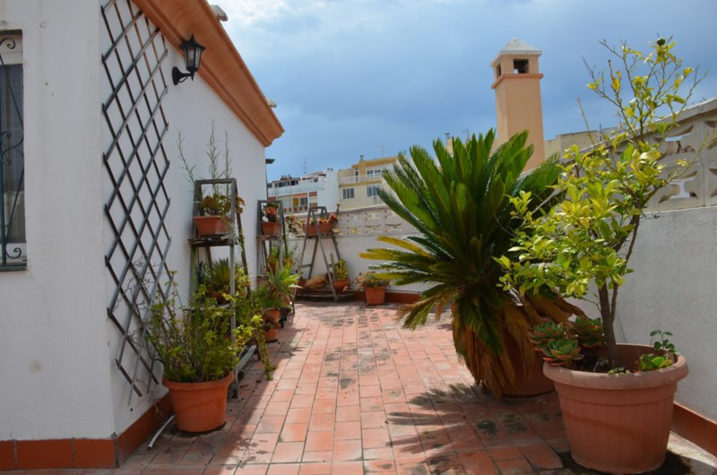 Terraced house in the old center of Estepona, completely renovated at 1 minutes walking from the bea, Spain