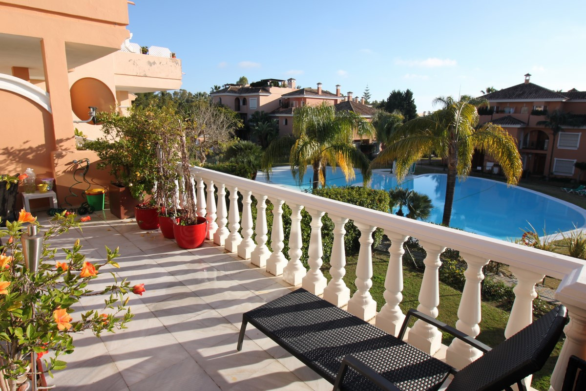 Spacious 2 bedroom duplex apartment next to the beach, New Golden Mile, Estepona Next to the beach, , Spain