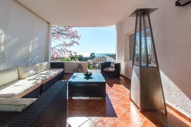 Beautiful fully renovated Villa in TORREMUELLE with sea views and southwest facing, located within w,Spain