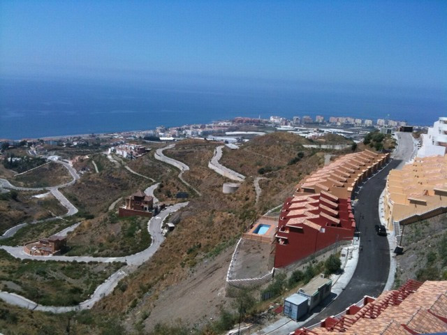Townhouse in Torrox Costa.  Two bedroom, bathroom, lounge dining room and terraces with panoramic vi, Spain