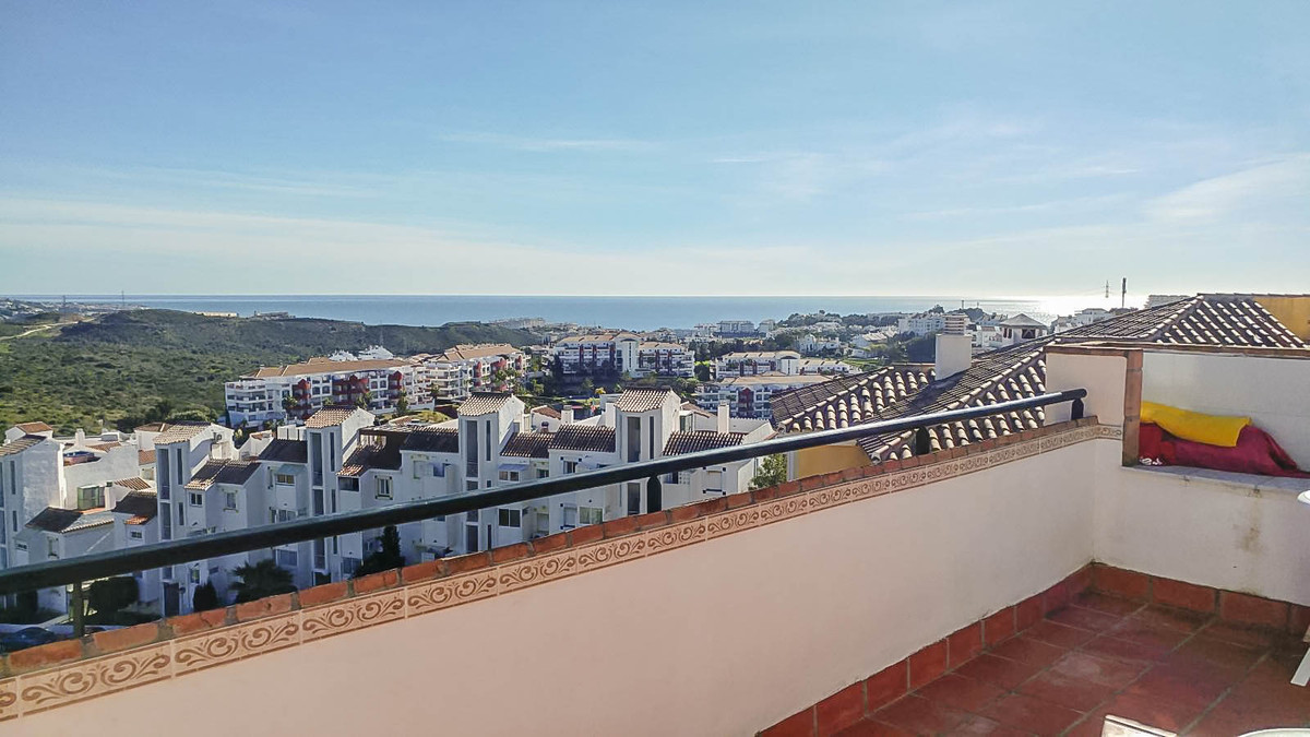*** RESERVED ***  A bright and airy penthouse with open panoramic views, located in the upper part o, Spain