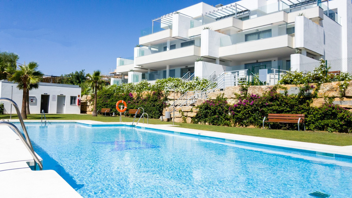 Brand new, contemporary apartment for sale in Cabopino, located on the 1st line to the golf course a,Spain