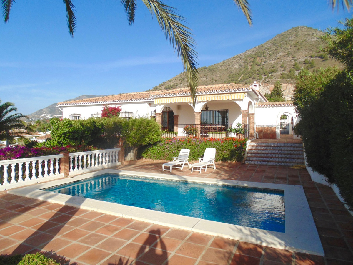 Classic Spanish villa with fantastic sea views and set in the most beautiful grounds.  Located in a , Spain