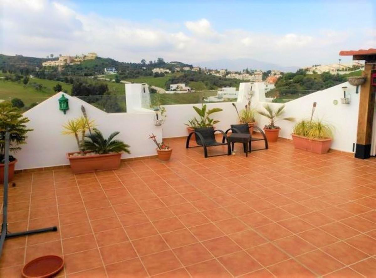 Fantastic penthouse, Mediterranean style apartments first line golf . Southwest. Solarium terrace 89,Spain