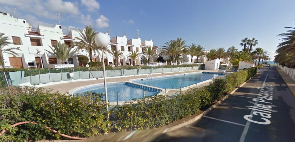 BEACH HOUSE, 2 BEDROOM TOWNHOUSE IN MAR AZUL, TORREVIEJA. The townhouse is only 30 metres walk to th,Spain