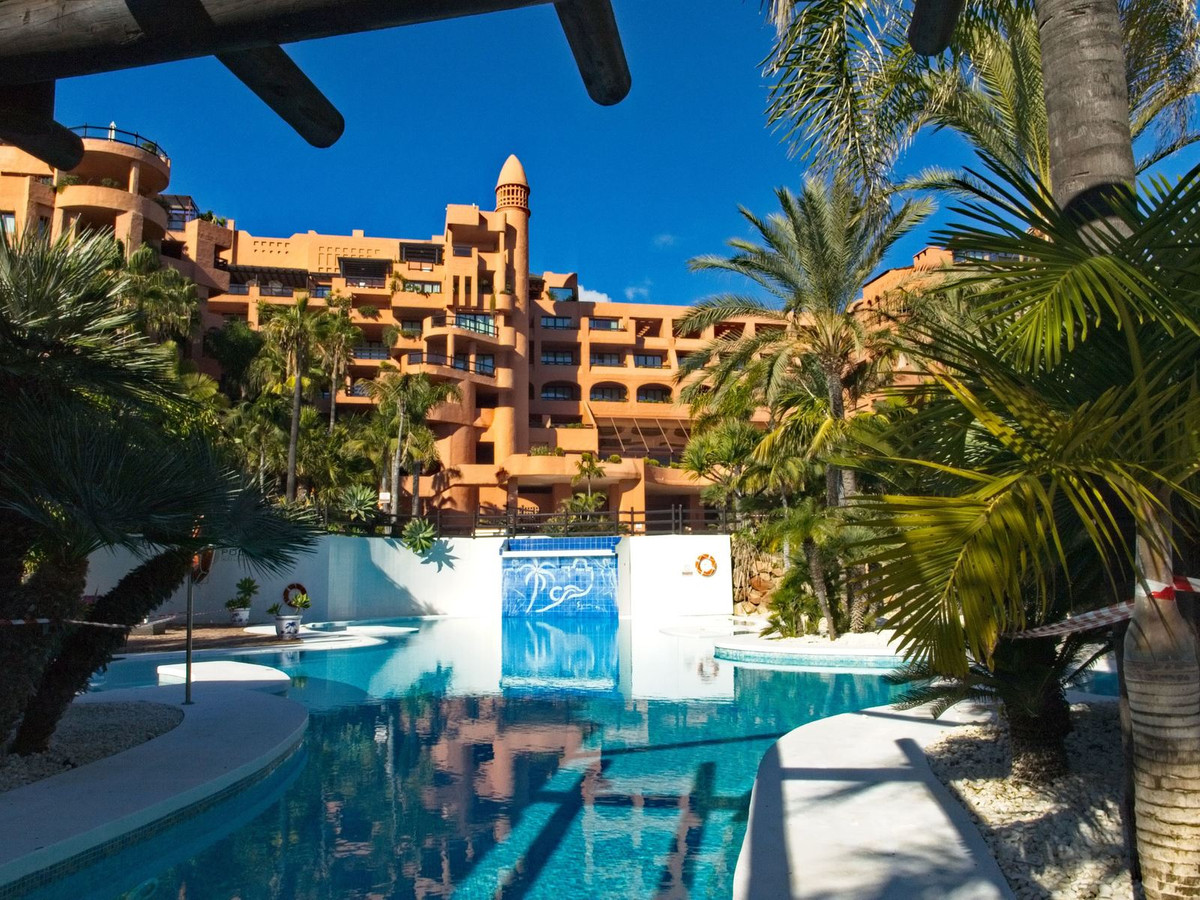 This outstanding beach side penthouse apartment is situated within renowned 5* Hotel Kempinski, just,Spain