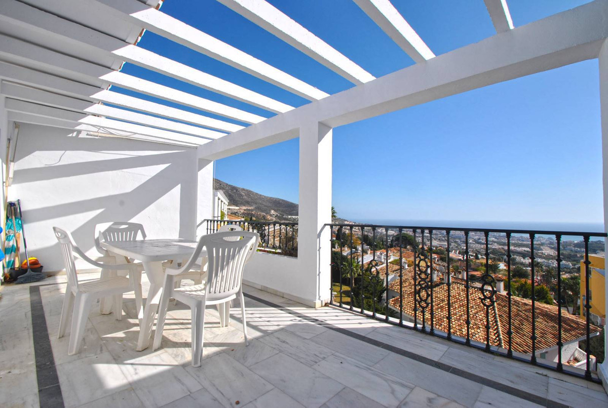 A wonderful bright and fresh two bedroom penthouse apartment in the heart of Benalmadena Pueblo with,Spain